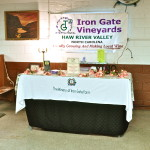 Wine Tasting, Iron Gate Winery, Thursday, April 4th