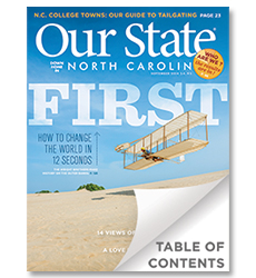 Mebane Antique Auction Gallery and Jon Lambert Featured in the September, 2014 Edition of Our State North Carolina Magazine
