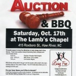 Oct. 17th Living Free Ministries Auction & BBQ